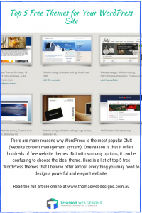 Free Themes for Your WordPress