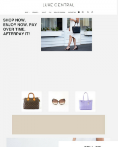 website to sell products on