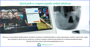 Quick guide to compare popular website platforms