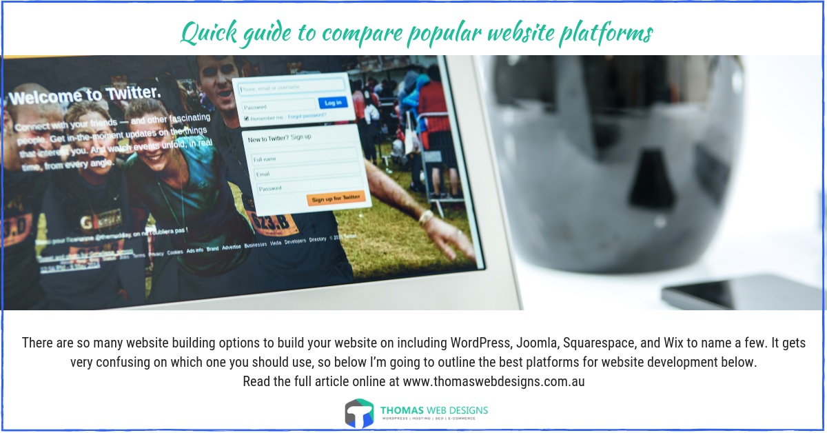Quick guide to compare popular website platforms