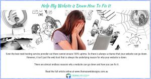 My Website is Down