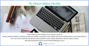 ultimate website checklist